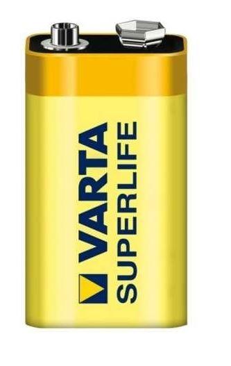 Baterie 9V VARTA 6LF22 ZiNc SuperLife