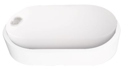 Svítidlo LED DITA OVAL W 14W NW IP54 Greenlux s PIR čidlem