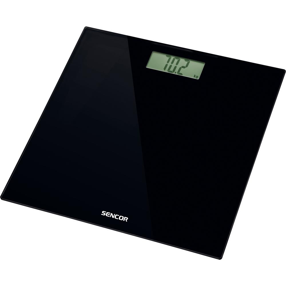 Váha osobní SENCOR SBS 2300BK LCD 150kg sklo černá