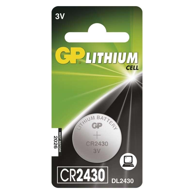 Baterie CR 2430 3V GP Lithiová knoflíková