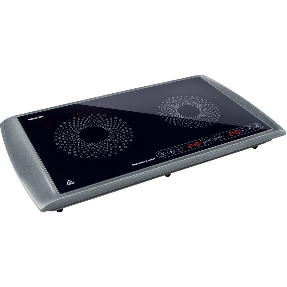 Indukční vařič SCP 5303GY SENCOR 2900W dvouplotýnkový