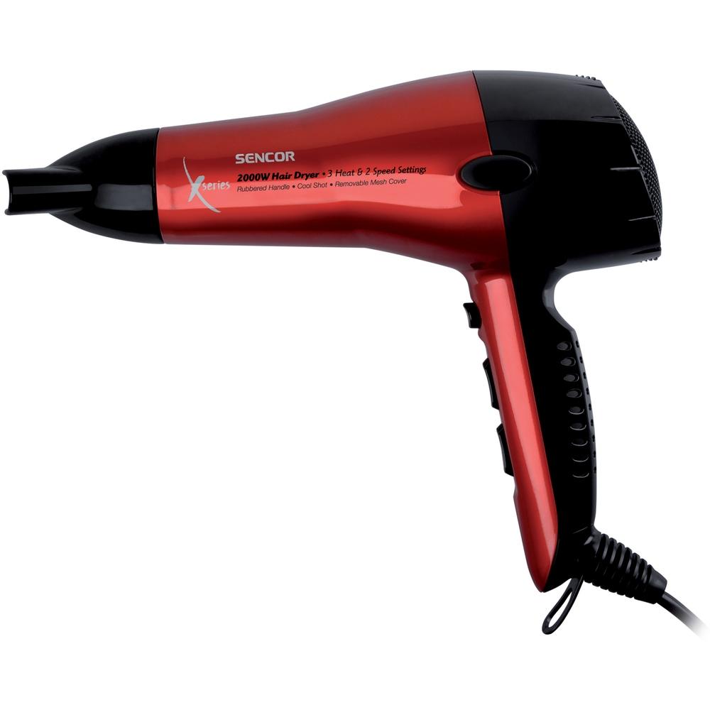 Vysoušeč vlasů SENCOR SHD 6600 2000W červený