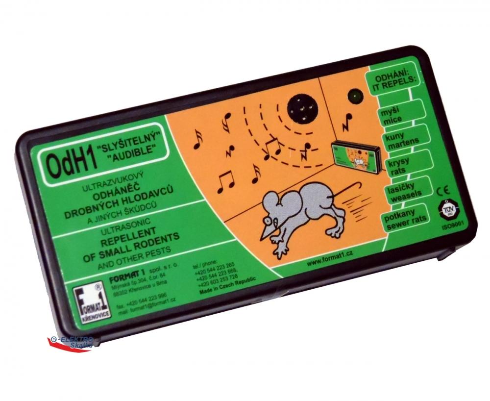 Akustický odpuzovač Format1 OdH1S Slyšitelný ultrazvuk
