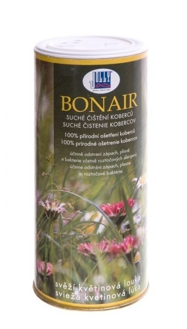 Práškový čistič BONAIR koberců květinová louka