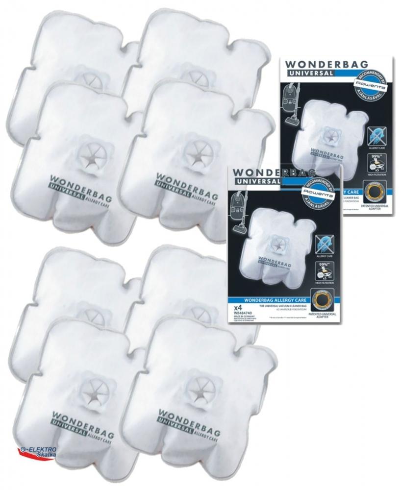 Sáčky ROWENTA WB484740 Wonderbag 8ks Universal sáčků