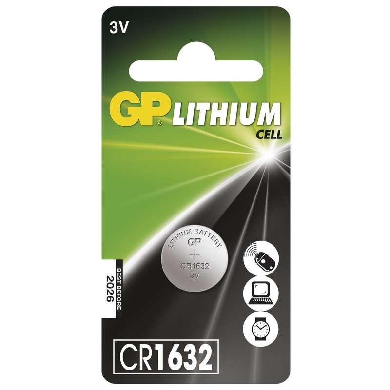 Baterie CR 1632 3V GP Lithiová knoflíková