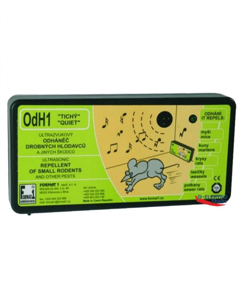 Ultrazvukový odpuzovač Format1 OdH1T plašič hlodavců