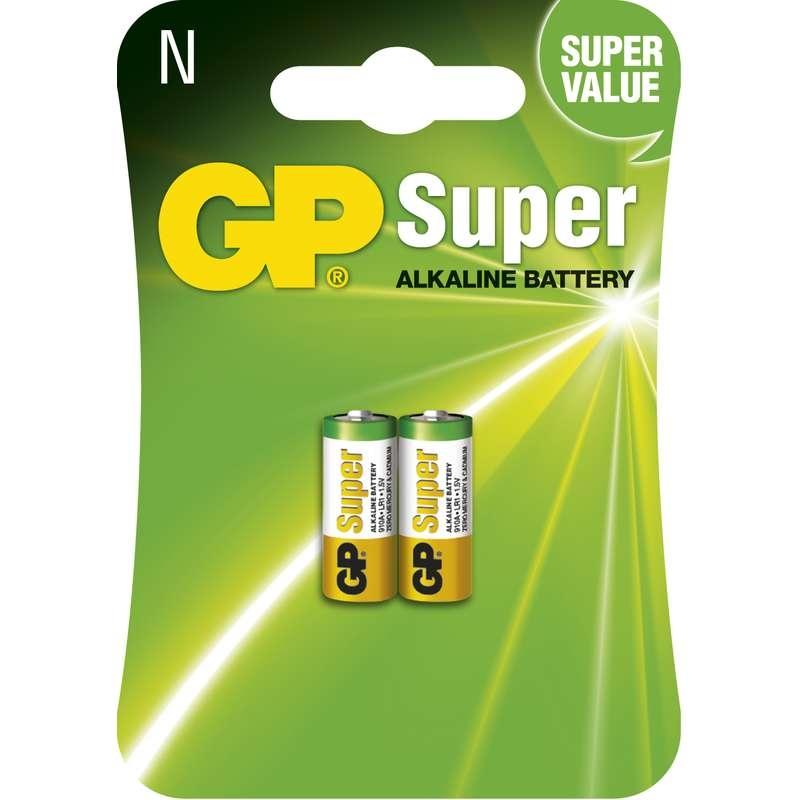 Baterie LR1 1,5V GP 910A Alkalická, 2ks baterií