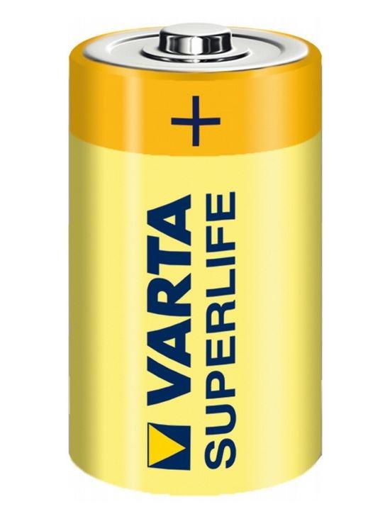 Baterie R20 1,5V VARTA ZiNc SuperLife (velký monočlánek) 1ks